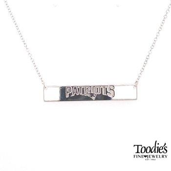 New England Patriot Bar Necklace