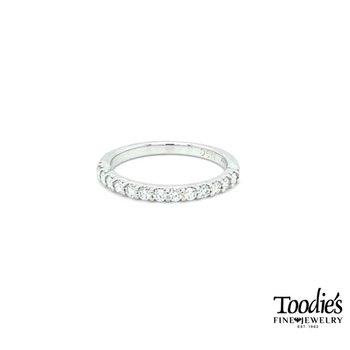 Classic Shared Prong Style Diamond Band