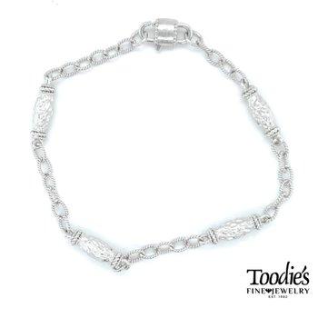 Filigree Style Station Bracelet