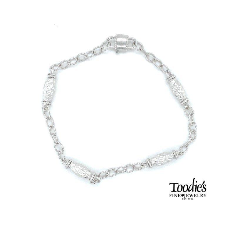 Gabriel Fashion Filigree Style Station Bracelet
