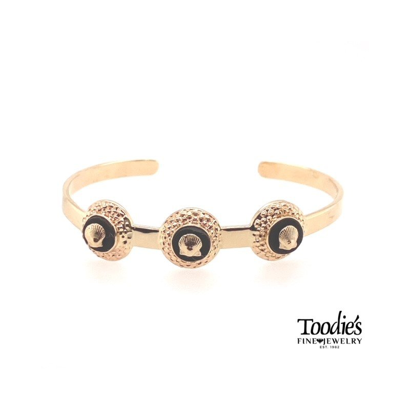 Toodie's Signature Fashion Vintage Nantucket Style Scallop Bracelet