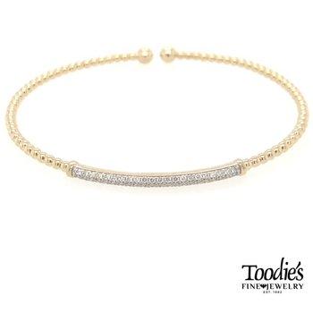 Diamond Bar Style Bracelet