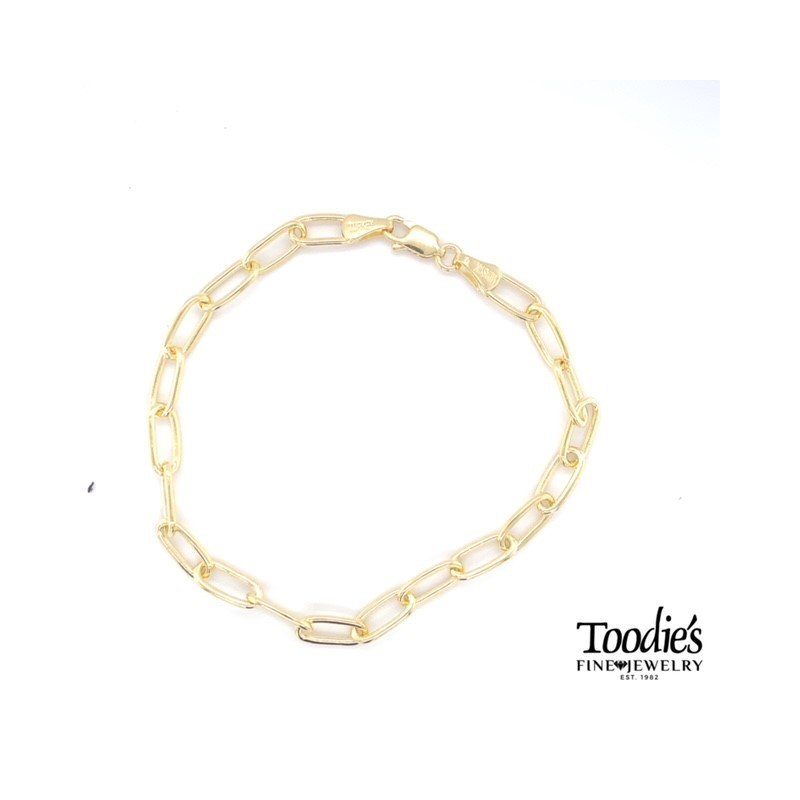 Toodie's Signature Fashion Paper Clip Style Link Bracelet