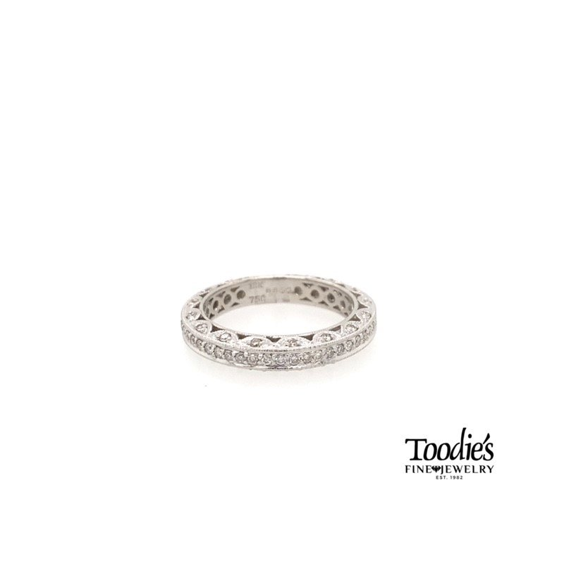 "Toodie's Signature Fashion *Designer Inspired"" Customized Pave' Set Eternity Band"