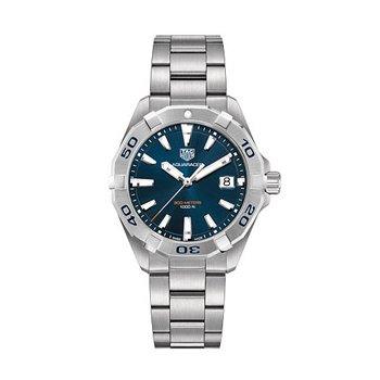 Aquaracer Quartz Watch with Blue Dial