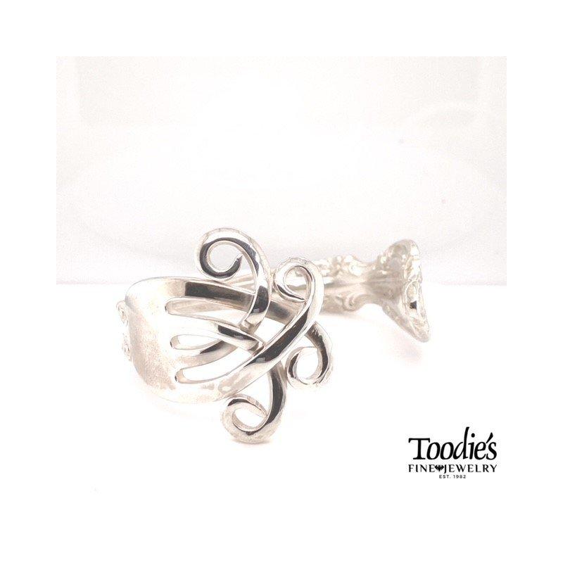 Toodie's Signature Fashion Antique Fork Bracelet