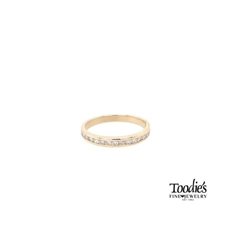 Toodie's Signature Fashion Channel Set Diamond Ring