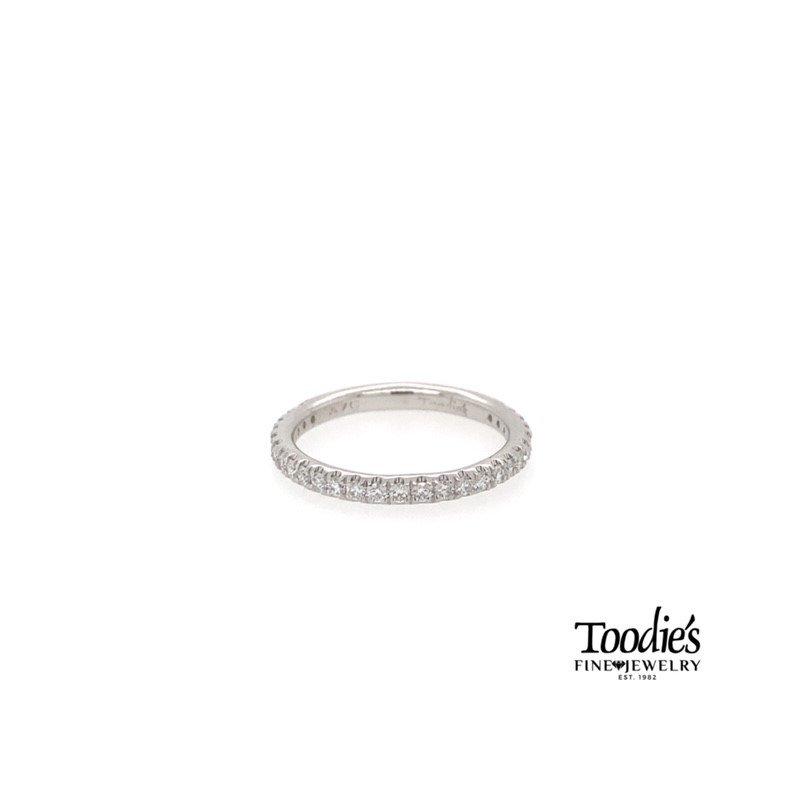 Toodie's Signature Fashion Platinum Straight Diamond Band