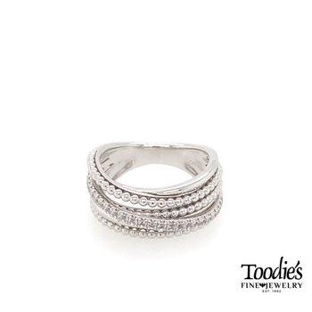 Layered Bujukan Beaded Ring