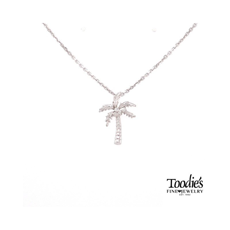 Penny James Jewelry Palm Tree Pendant Necklace