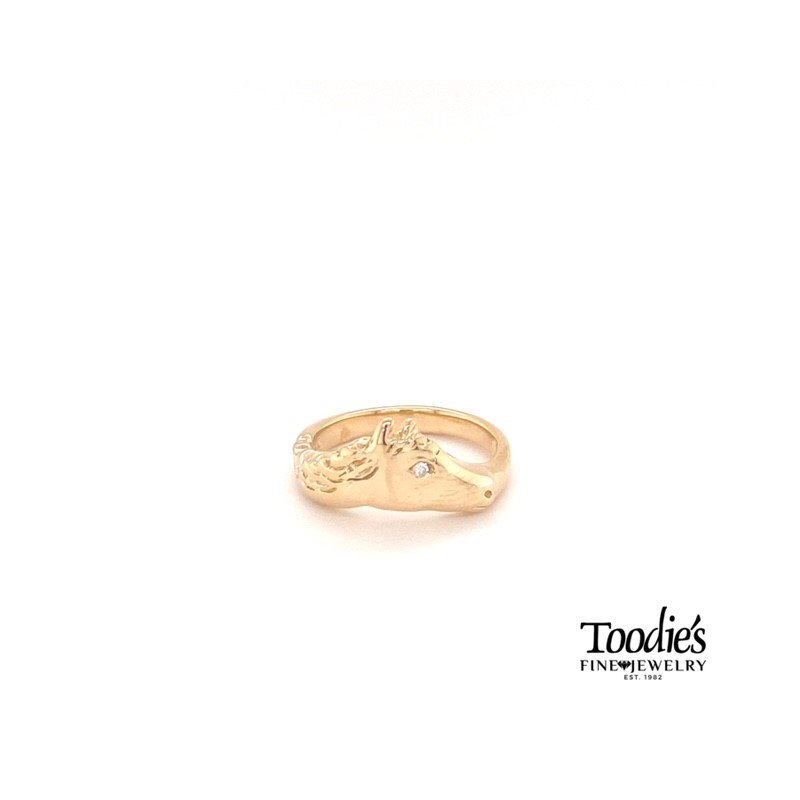 Toodie's Signature Fashion Horse Style Ring With Diamond