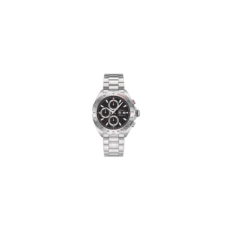 TAG Heuer Formula 1 Automatic Watch with Black Chronograph Dial