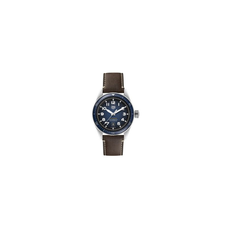TAG Heuer Autavia Automatic Watch with Blue Dial