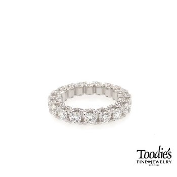 Adam's Custom Fully Dressed Diamond Eternity Band