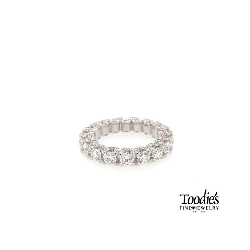 Toodie's Signature Fashion Adam's Custom Fully Dressed Diamond Eternity Band