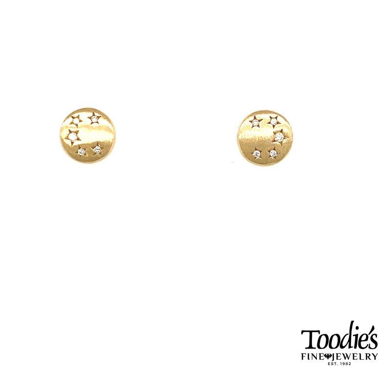 Shy Creation Diamond Star Collection Earrings