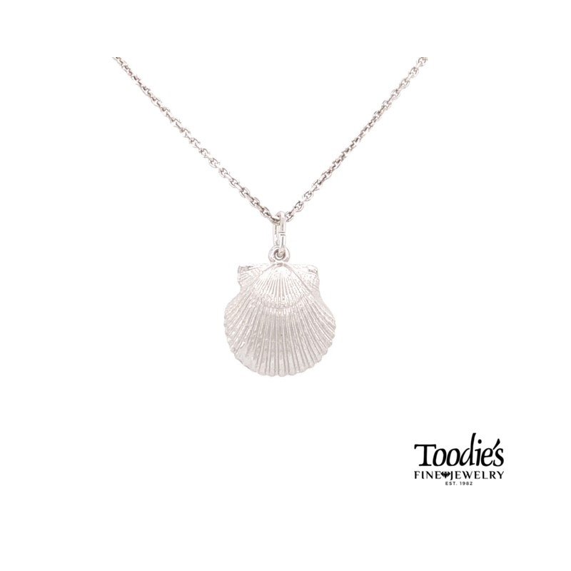 Toodie's Signature Fashion Clam Shell Necklace