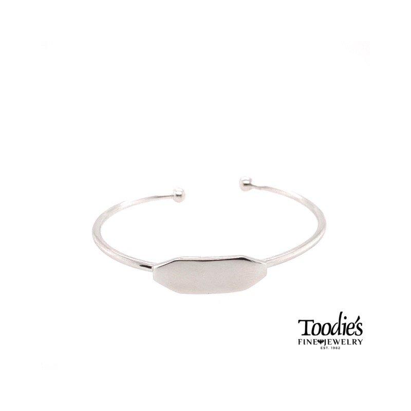 Toodie's Signature Fashion Engraveable Baby Bracelet