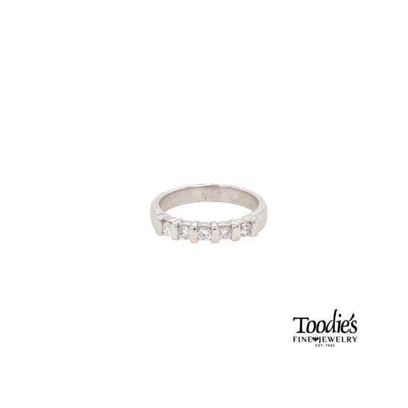Toodie's Signature Fashion Five Stone Diamond Band