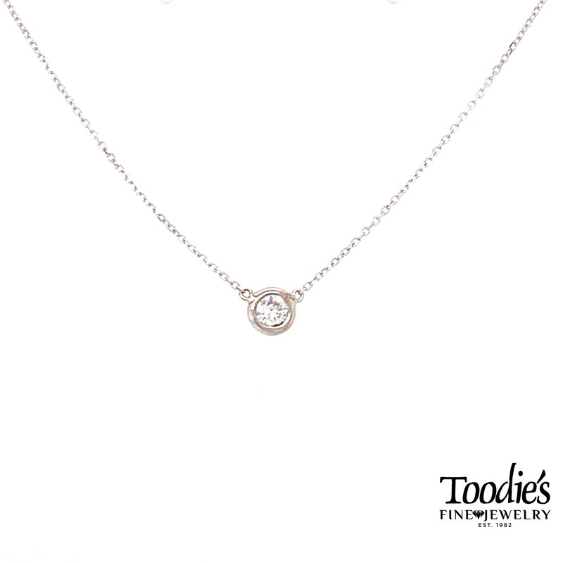 Toodie's Signature Fashion Floating Diamond Necklace
