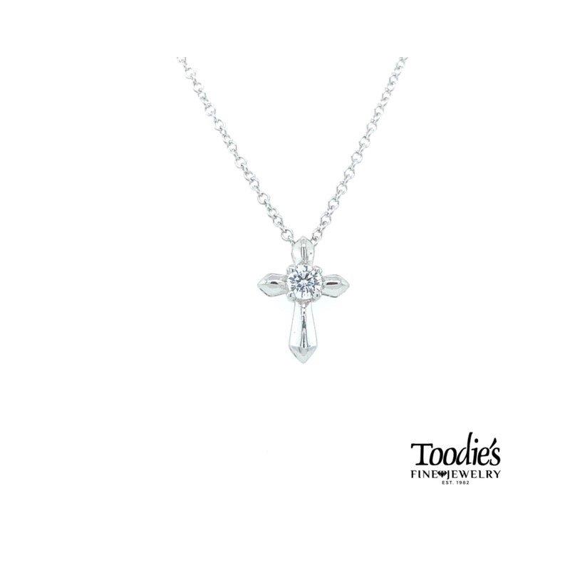Gabriel Fashion Petite Cross and Chain