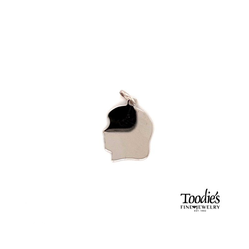 Toodie's Signature Fashion Baby Head Engraveable Charm