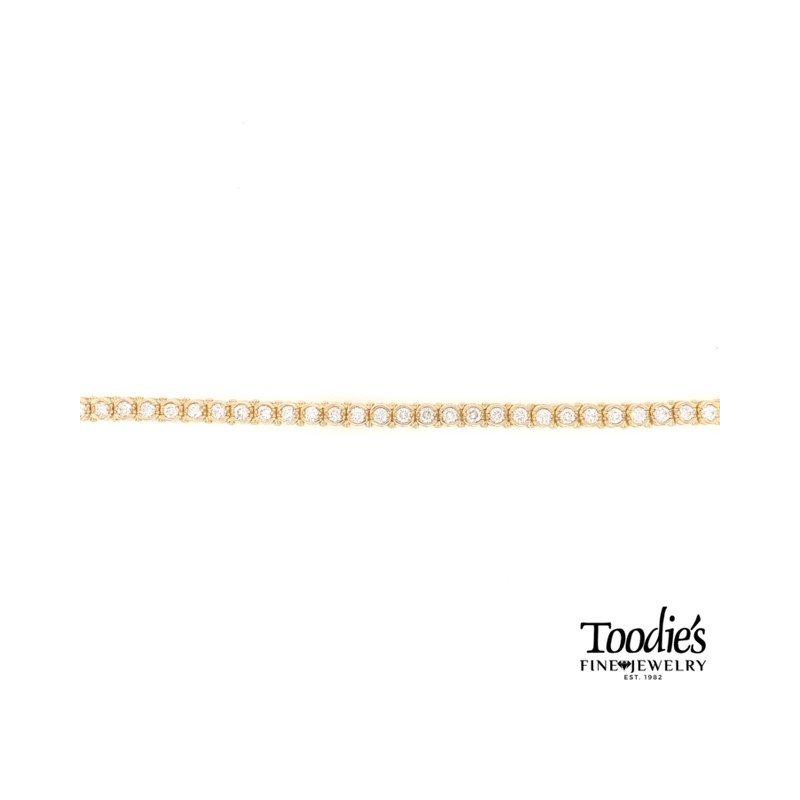 Toodie's Signature Fashion 5 Carat Diamond Tennis Bracelet