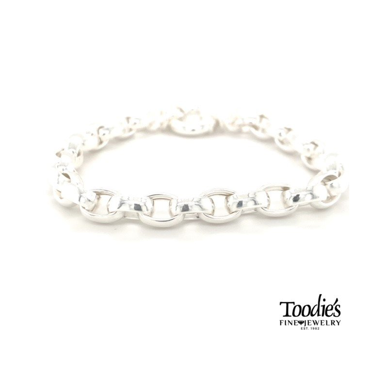 "Lola & Company 8"" Signature Rolo Style Bracelet"
