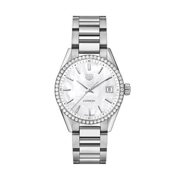 Ladies Carrera Watch FULLY Dressed in Diamonds