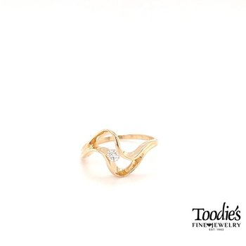 Diamond Free Form Ring
