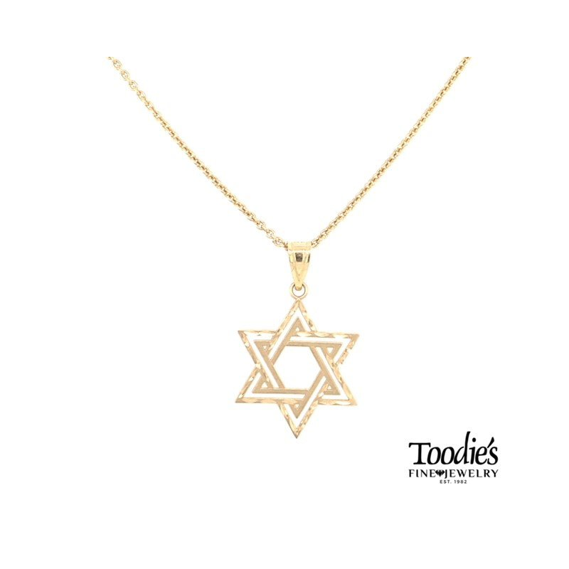 Toodie's Signature Fashion Star of David Necklace