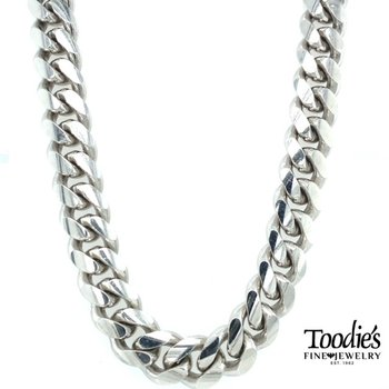 *HEAVY* Sterling Miami Cuban Necklace