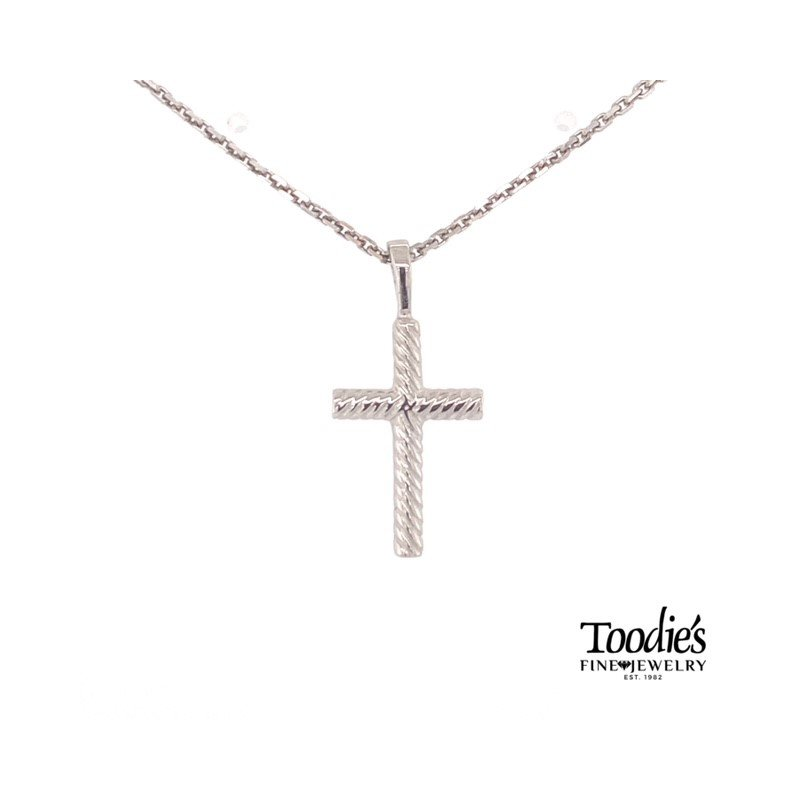 Toodie's Signature Fashion Rope Design Cross Necklace