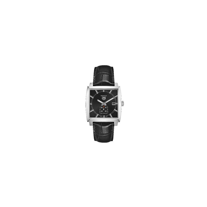 TAG Heuer Monaco Quartz Watch with Black Dial