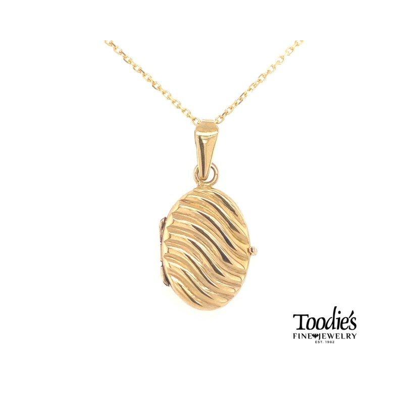 Toodie's Signature Fashion Swirl Design Locket