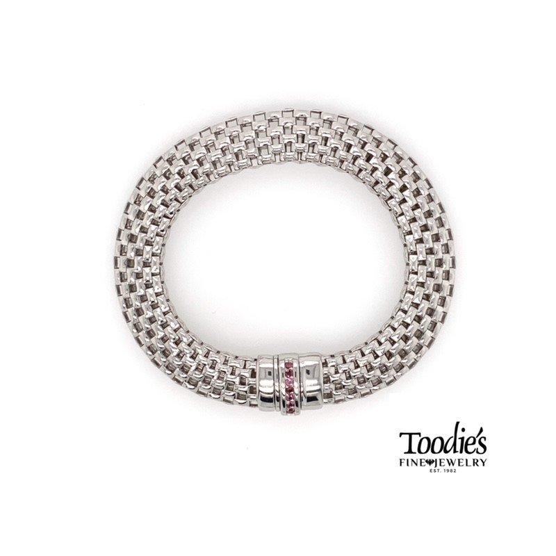Phillip Gavriel Rounded Box Style Link Bracelet