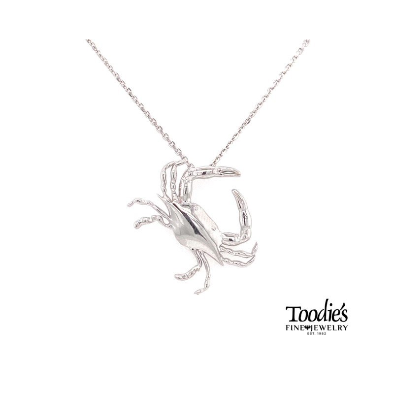 Penny James Jewelry Crab Pendant Necklace