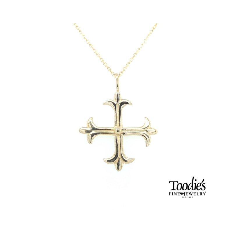 Toodie's Signature Fashion Yellow Gold 4-Way Cross