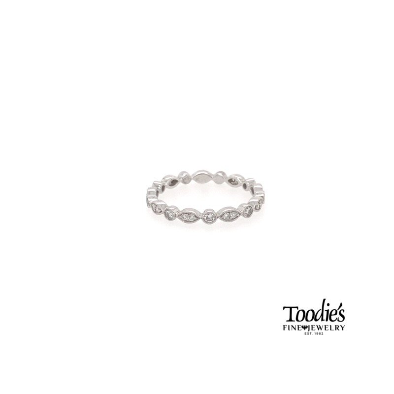 Toodie's Signature Fashion Marquise and Round Diamond Stackable