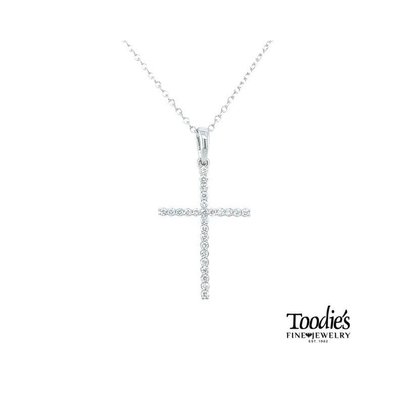 Toodie's Signature Fashion Diamond Cross Necklace