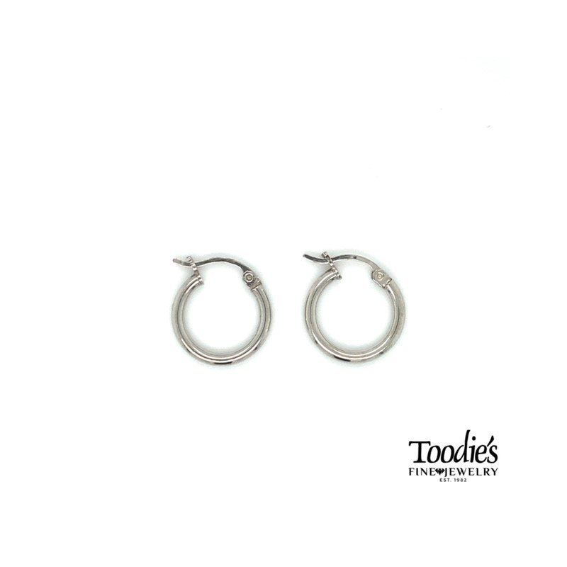 Toodie's Signature Fashion Sterling Silver Small Hoop Earring
