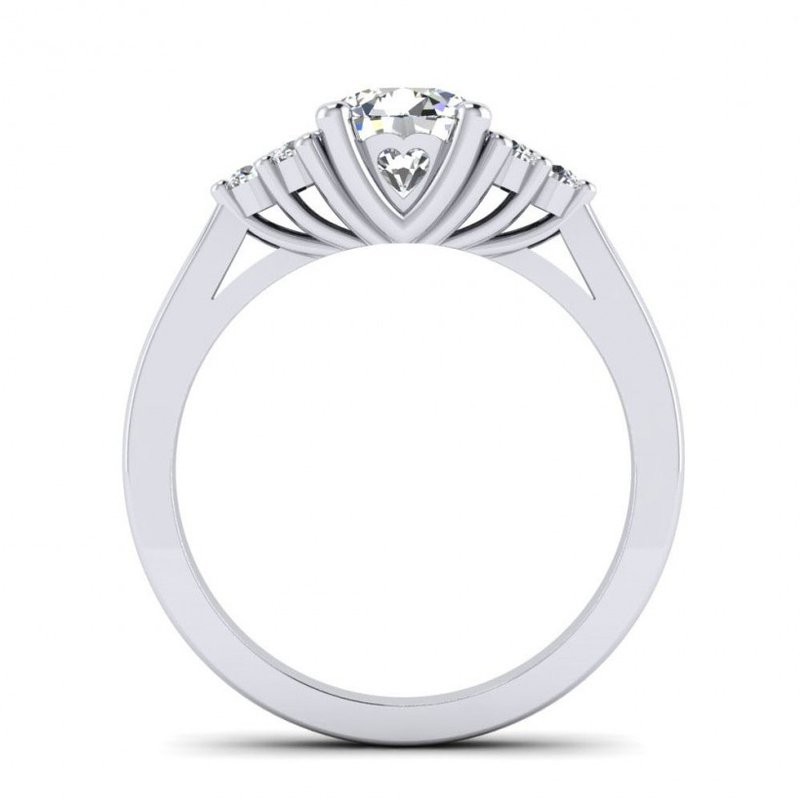 Toodie's Bridal Diamond Cluster Engagement Ring