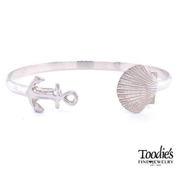Anchor & Scallop Bracelet