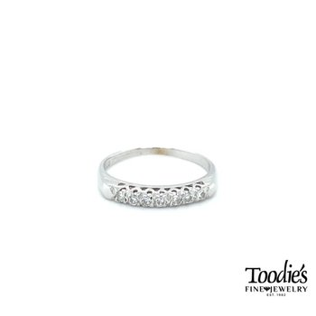 Antique Inspired Diamond Band