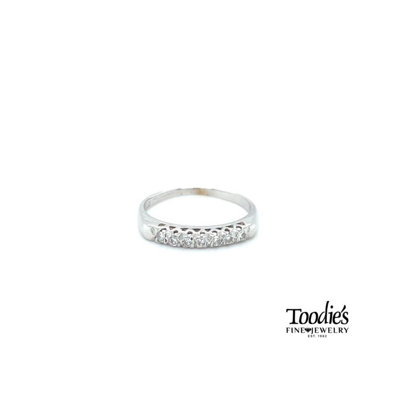 Toodie's Signature Fashion Antique Inspired Diamond Band