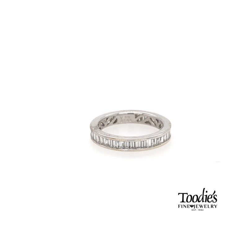 Toodie's Signature Fashion Diamond Baguette Eternity Band