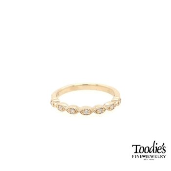 Marquise Shape Diamond Stackable