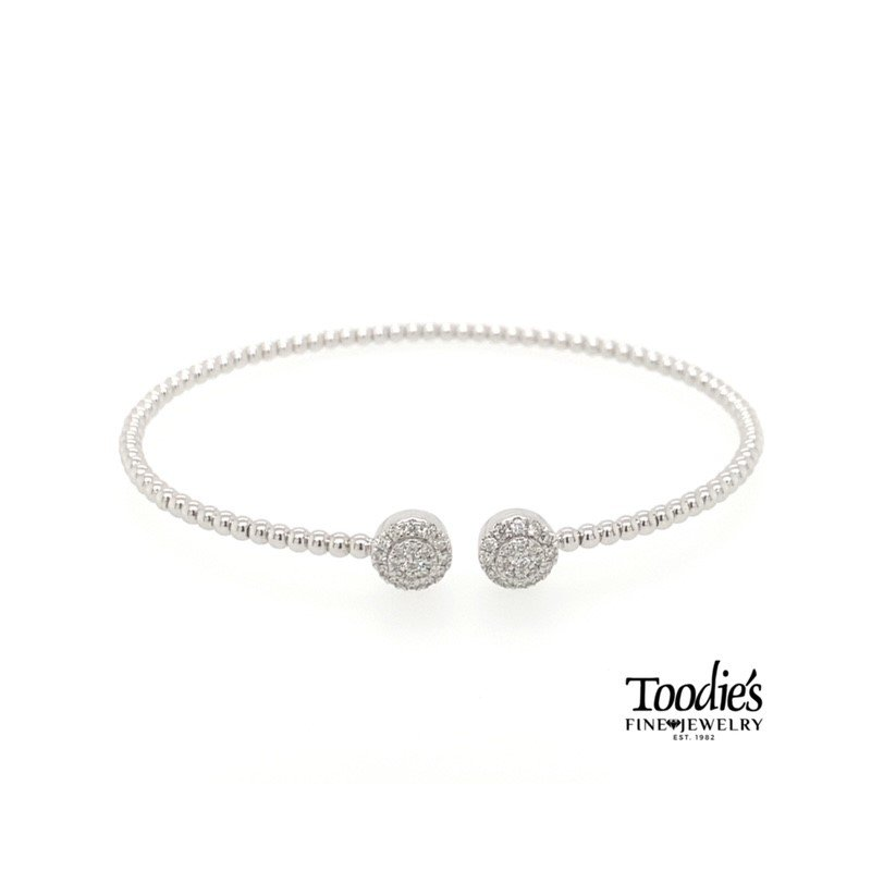 Gabriel Fashion Pave Style Beaded Bracelet