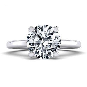 Surprise Halo Style Engagement Ring