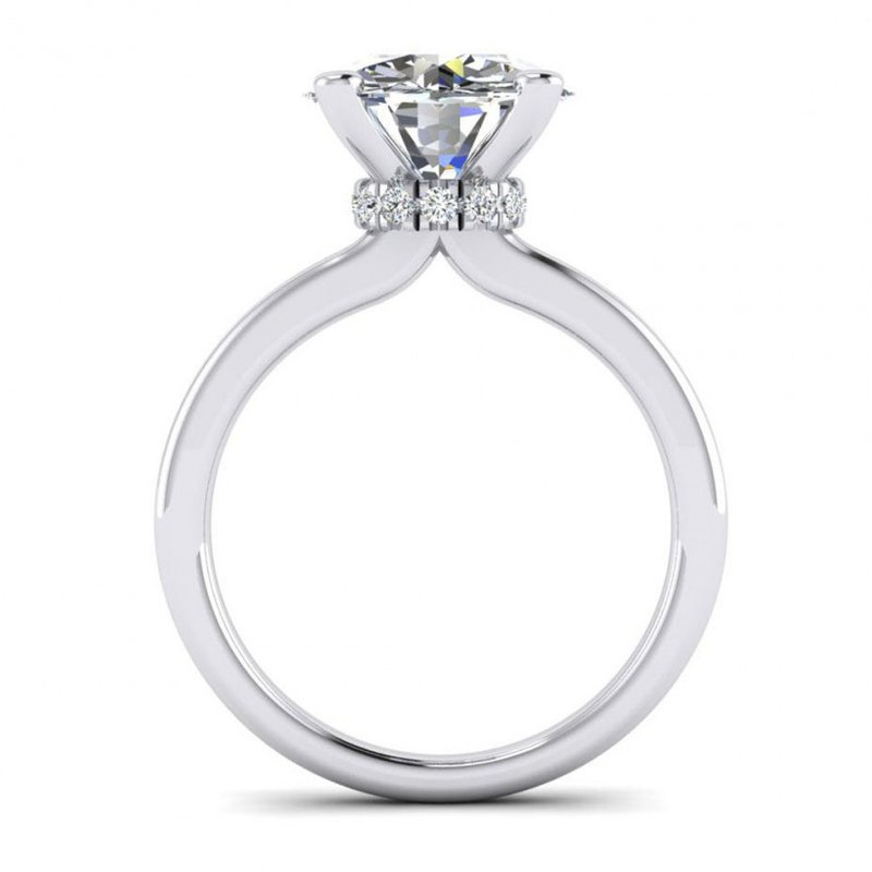 Toodie's Bridal Surprise Halo Style Engagement Ring